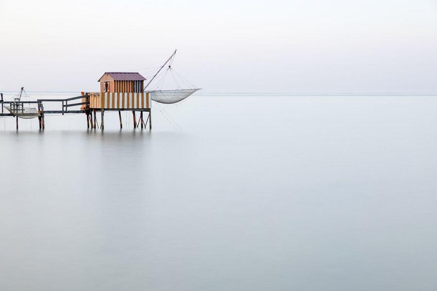 Stilt huts of the Gironde