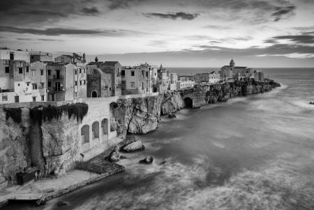 Italy, Apulia (Puglia), Mediterranean sea, Adriatic sea, Adriatic Coast, Foggia district, Gargano, Vieste, Gargano, Italy