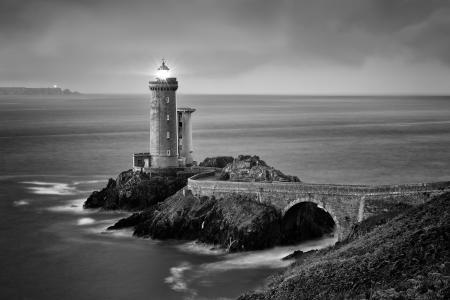 Petit Minou lighthouse, Plouzane, Brittany, France
