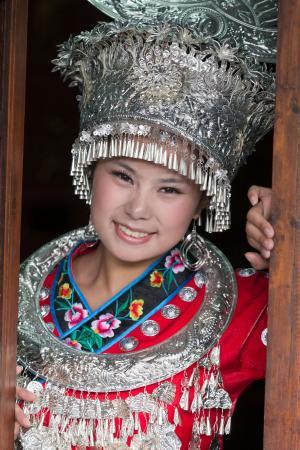 Girl in the headdress