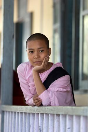 Burmese nun
