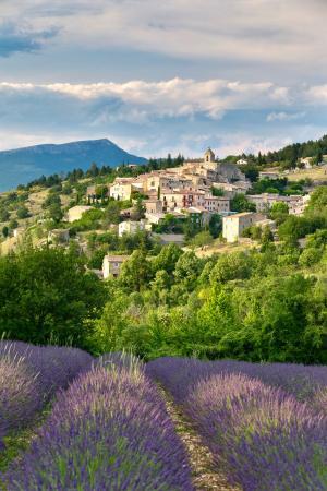 Auriel, Provence, France