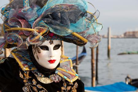 Lady on the lagoon