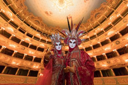 Costumes in the Fenice
