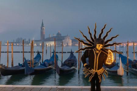 Sunrise, Venice Carnival