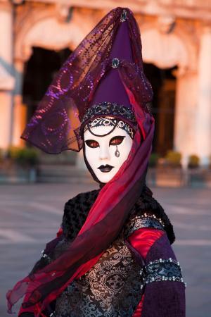 Red eyes, Venice Carnival