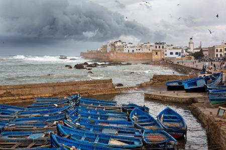 Sheltering boats